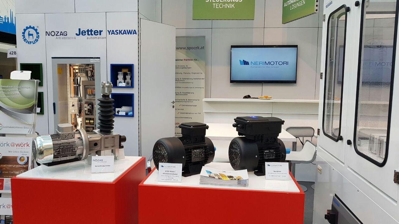 Neri Motori at Smart Automation Austria - Neri Motori S R L