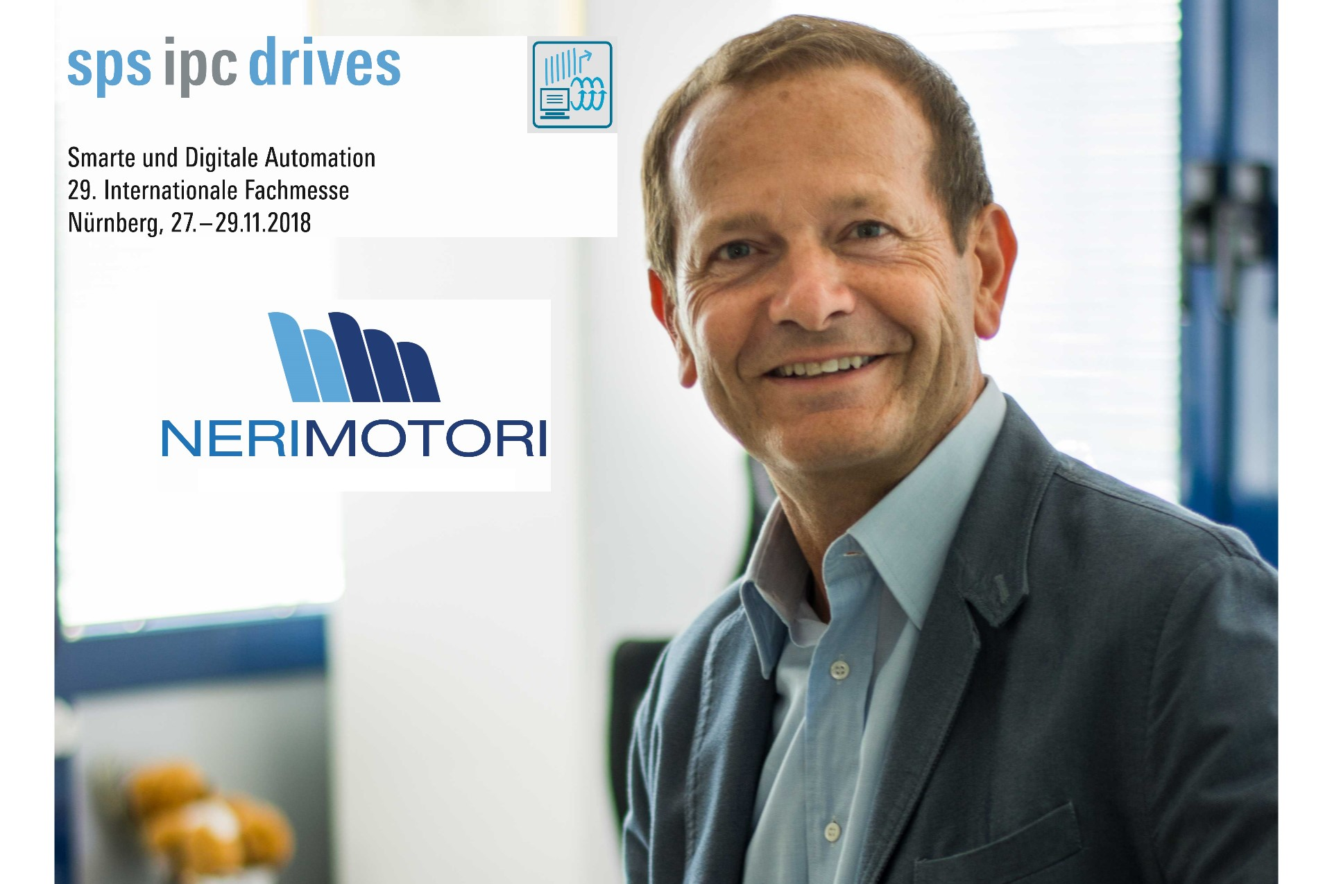 Neri Motori at SPS IPC Drives, Nuremberg